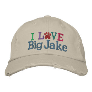 Pawprint Cap - Love My Dog ! by SRF Embroidered Hat