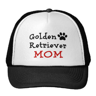 Pawprint Golden Retriever Mom Trucker Hat