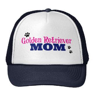 Pawprint Golden Retriever Mom Trucker Hats