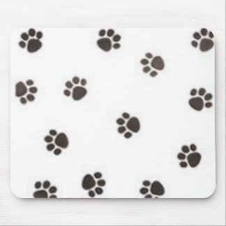 Pawprint Mouse Pad