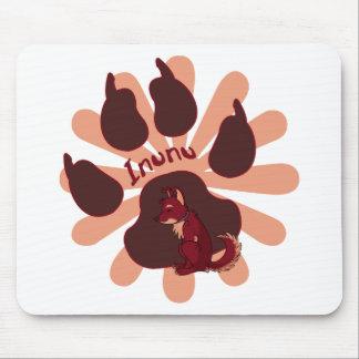 Pawprint Mousepad de Inunu Alfombrillas De Raton
