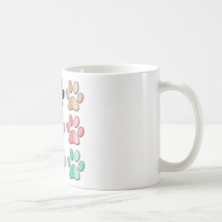 Pawprint mug