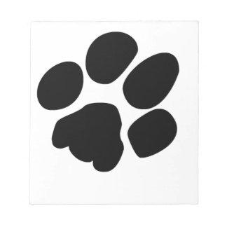 Pawprint Note Pad