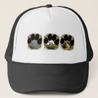Pawprint of Africa Collage 4 Trucker Hat