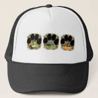 Pawprint of Africa Collage 5 Trucker Hat