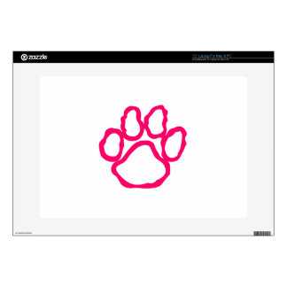 Pawprint Outline Decals For Laptops
