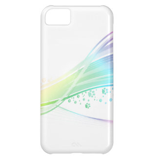Pawprint Rainbow Case For iPhone 5C