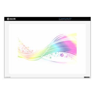 Pawprint Rainbow Skins For Laptops