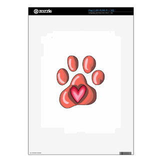 PAWPRINT DECALS FOR THE iPad 2
