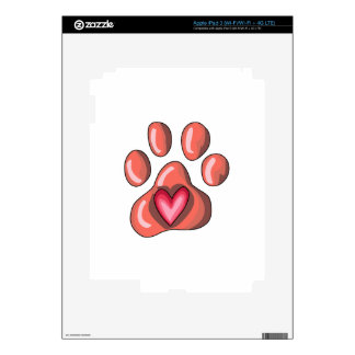 PAWPRINT DECALS FOR iPad 3