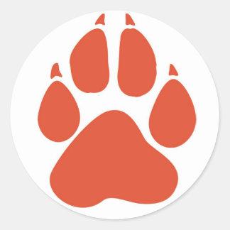 Pawprint Sticker