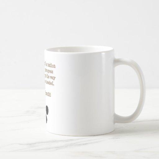 PawPrintGhandi Classic White Coffee Mug