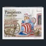 "Pawprints Calendar 2020, classic 1976 reprint<br><div class=""desc"">Pawprints"
