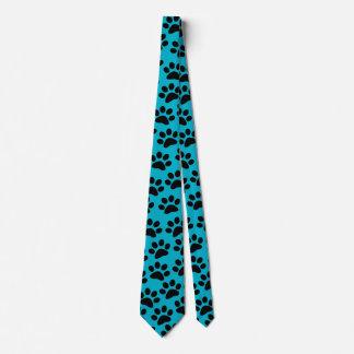 PAWPRINTS color (puppy dog paw prints) ~~ Neck Tie