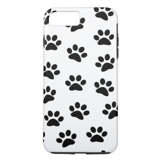 PAWPRINTS (impresiones) de la pata del perro de Funda iPhone 7 Plus