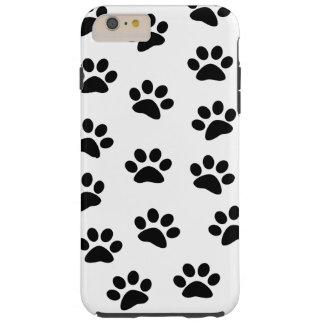 PAWPRINTS (impresiones) de la pata del perro de Funda Para iPhone 6 Plus Tough
