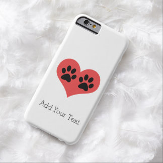 Pawprints In My Heart iPhone 6 Case