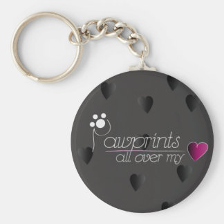 Pawprints - keychain