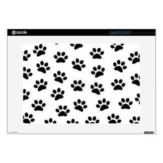 PAWPRINTS (puppy dog paw prints) ~.png Laptop Skin