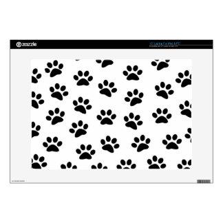 "PAWPRINTS (puppy dog paw prints) ~ 15"" Laptop Decal"