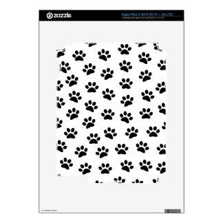 PAWPRINTS (puppy dog paw prints) ~ Skins For iPad 3