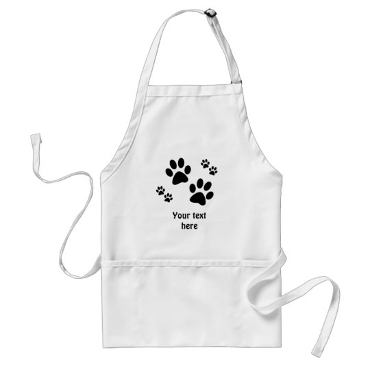 Paws Adult Apron