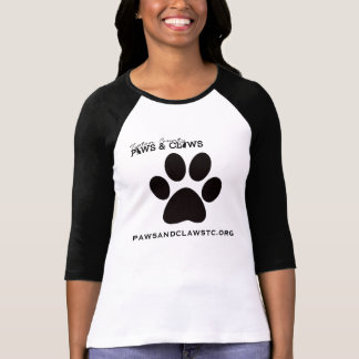 Paws and Claws Baseball Jersey Tee Shirt