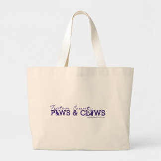 Paws and Claws Jumbo Tote Tote Bags