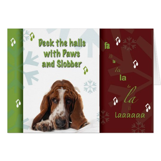 Paws and Slobber Card
