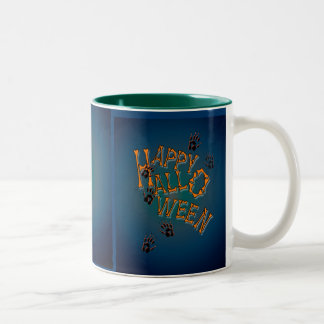 PAWS & BONES by SHARON SHARPE Two-Tone Coffee Mug