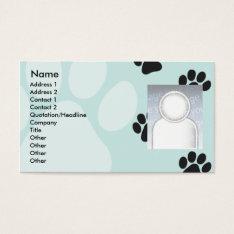 Paws - Business Business Card at Zazzle