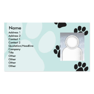 Paws - Business Double-Sided Standard Business Cards (Pack Of 100)