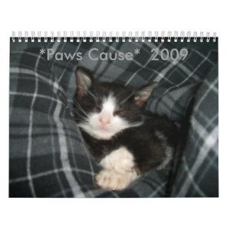 *Paws Cause*  2009 calendar