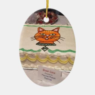 Paws Cause benefit Ceramic Ornament