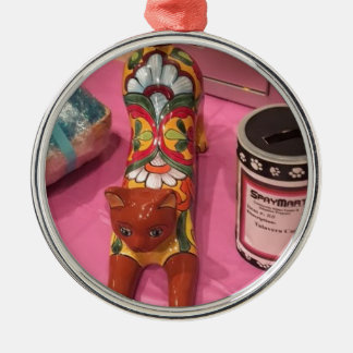 Paws Cause Benefit Metal Ornament