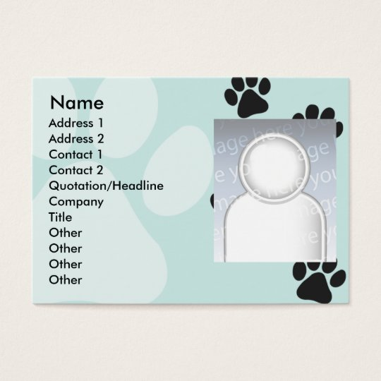 Paws - Chubby Business Card