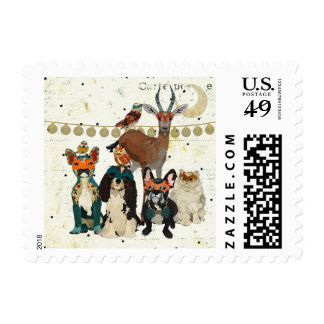 PAWS, CLAWS & HOOVES MAQUERADE Stamp