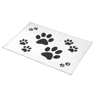 Paws Cloth Placemat