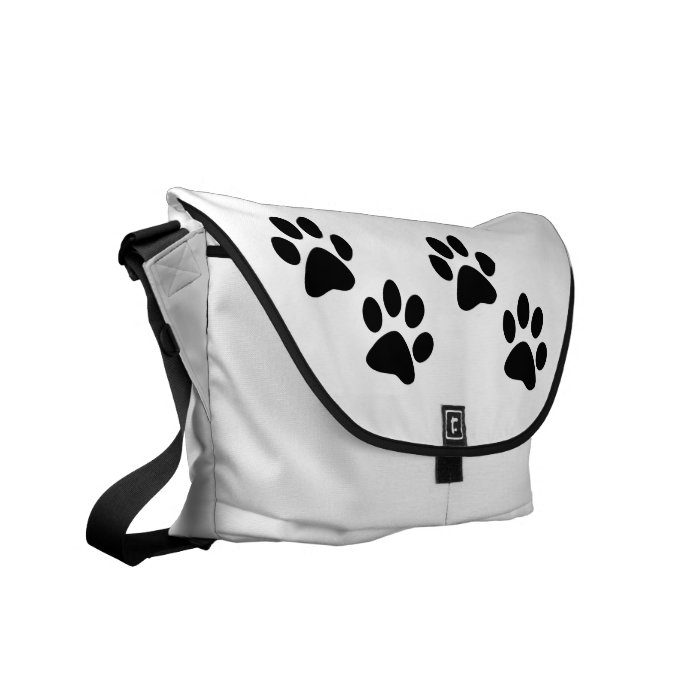 Paws Courier Bag