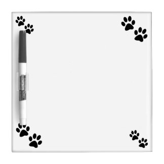 Paws Dry-Erase Board