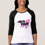 Paws for a Cause   Breast Cancer   Dachshund Shirt