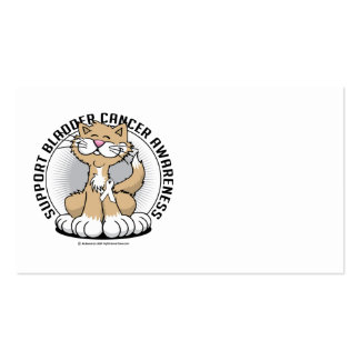 Paws for Bone Cancer Cat Business Card