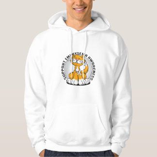Paws for Bone Emphysema Cat Hoodie