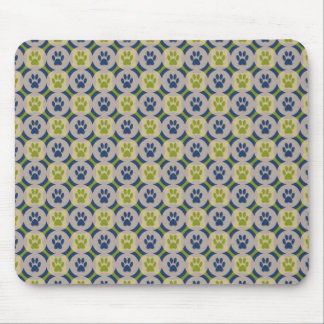 Paws-for-Business Mousepad (Olive/Navy)