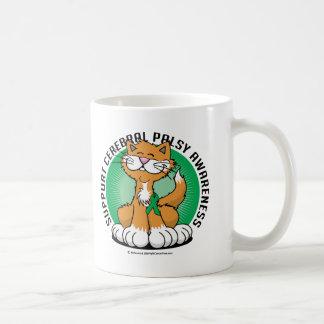 Paws for Cerebral Palsy Cat Coffee Mug