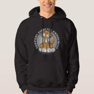 Paws for Diabetes Cat Hoodie