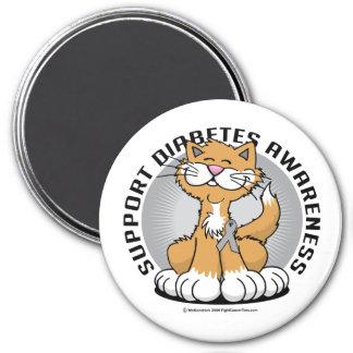 Paws for Diabetes Cat Magnet