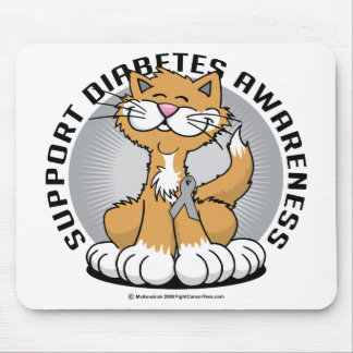 Paws for Diabetes Cat Mouse Pad