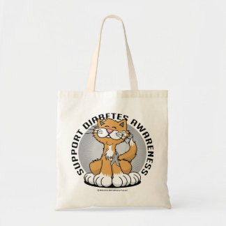 Paws for Diabetes Cat Tote Bag