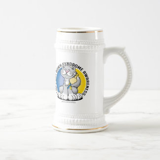 Paws for Down Syndrome Cat Beer Stein